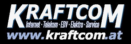 Light LOGO - KraftCom: Internet / Telekom / EDV / Elektro
