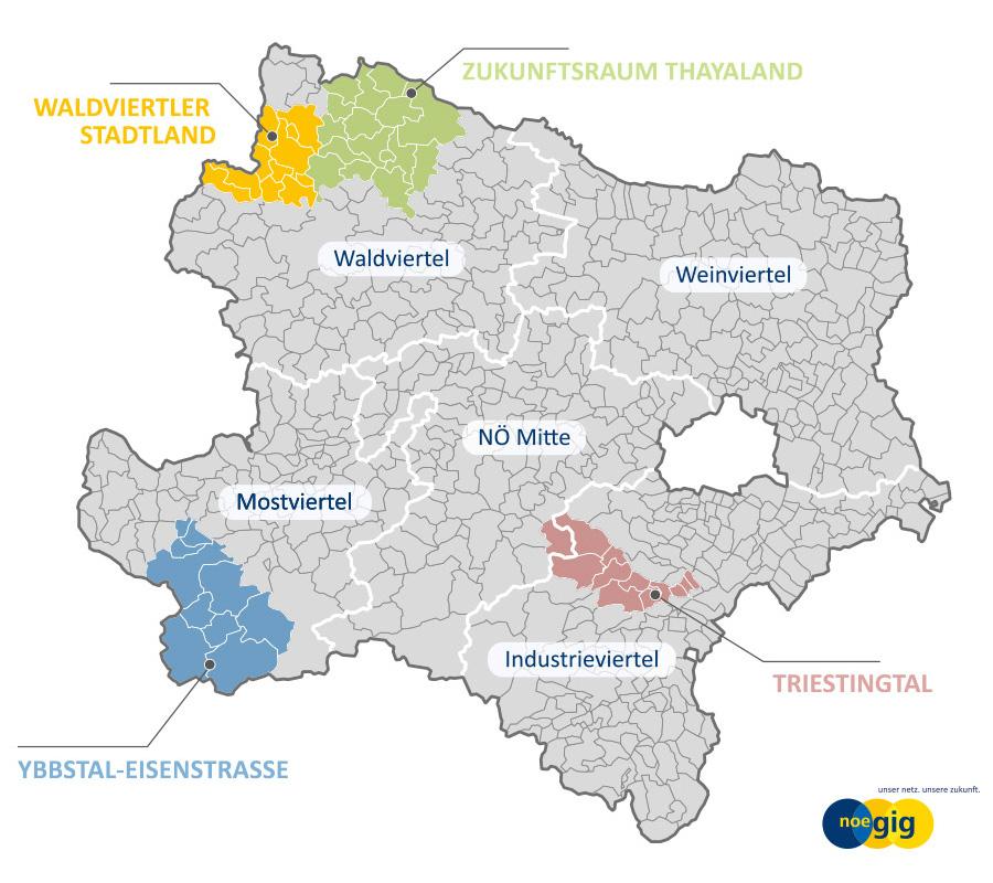 Glasfaser Internet Anbieter: Waldviertler Stadtland